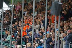 Dutch supporters<br /> European Championship Dressage Windsor 2009<br /> © Hippo Foto - Dirk Caremans