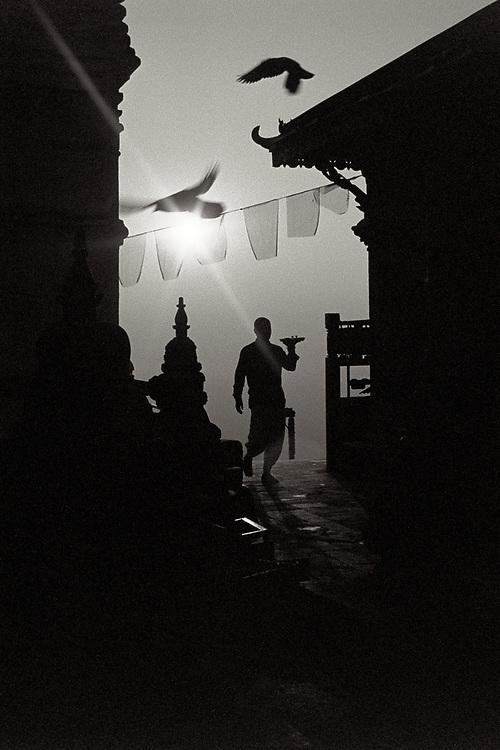 Swayambhunath Temple, Kathmandu, Nepal. Photo by Lorenz Berna