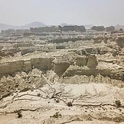 The landscape around Hingol National Park, Pakistan's largest National Park.