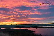 Sunrise skies at Freezeout Lake WMA near Choteau, Montana, USA