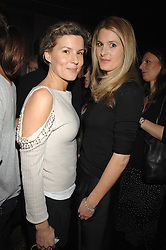 Left to right, ALEX GORE BROWNE and LADY KINVARA BALFOUR at a party to celebrate Imogen Lloyd Webber's 30th birthday and the launch of her Single Girl's Guide held at Vilstead, 9 Swallow Street, London on 27th March 2007.<br /><br />NON EXCLUSIVE - WORLD RIGHTS