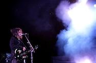 19th April 2009. Indio, California. Robert Smith of The Cure, on stage at the Coachella Music Festival..PHOTO © JOHN CHAPPLE / REBEL IMAGES.tel +1 310 570 9100    john@chapple.biz