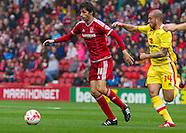 Middlesbrough v Milton Keynes Dons 120915