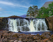 Ahsleagh Falls in County Mayo, Ireland<br /> Picture by Don MacMonagle -macmonagle.com