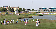 A crowd around Martin Kaymer (GER) on th 15ht where he double bogeyed during Round Two of the 2015 Alstom Open de France, played at Le Golf National, Saint-Quentin-En-Yvelines, Paris, France. /03/07/2015/. Picture: Golffile   David Lloyd<br /> <br /> All photos usage must carry mandatory copyright credit (© Golffile   David Lloyd)
