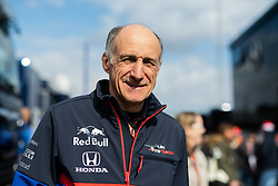 February 19, 2019 - Montmelo, BARCELONA, Spain - SPAIN, BARCELONA, 19 February 2019. Franz Tost Toro Roso Team principal during the winter test at Circuit de Barcelona Catalunya. (Credit Image: © AFP7 via ZUMA Wire)
