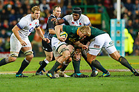 CAPE TOWN, SOUTH AFRICA - JUNE 23: South African player Pieter-Steph du Toit at Newlands Stadium on June 23, 2018 in Cape Town, South Africa. (Photo by MB Media/Getty Images)
