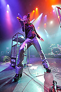KMFDM performs on their 25 Anniversary Tour at Gramercy Theater, NYC. September 25, 2009.