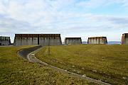 Nederland, Zeeland, Gemeente Schouwen-Duiveland, 16-03-2016;  sluisterrein Krammersluizen met de doorlaatwerken en pompstation. Compartimenteringswerk tussen Volkerak en Krammer. <br /> <br /> <br /> copyright foto/photo Siebe Swart