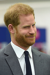 May 30, 2019, London, United Kingdom: Prince Harry, The Duke of Sussex at the opening match of the 2019 ICC Cricket World Cup between England and South Africa at The Oval in London. (Credit Image: © Pool/i-Images via ZUMA Press)