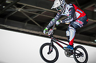 #959 (SCHOTMAN Mitchel) NED at the 2018 UCI BMX Superscross World Cup in Saint-Quentin-En-Yvelines, France.