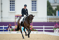 Frank Hosmar (NED) - Alphaville<br /> Individual Championship Test - Grade Ia<br /> London 2012 Paralympic Games<br /> © Hippo Foto - Jon Stroud