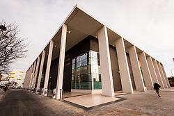 Abbey Leisure Centre, Regeneration in Barking, London 2016 UK