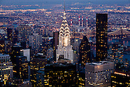 Chrysler building NY365A and cityscape