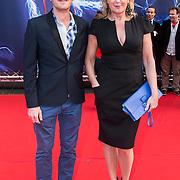 NLD/Amsterdam/20140422 - Premiere The Amazing Spiderman 2, Inge Ipenburg en .............