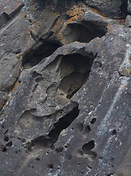 Cliff Detail, Gossip Island, San Juan Islands, Washington, US