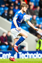Laurence Maguire of Chesterfield controls the ball - Mandatory by-line: Robbie Stephenson/JMP - 28/04/2018 - FOOTBALL - Proact Stadium - Chesterfield, England - Chesterfield v Wycombe Wanderers - Sky Bet League Two