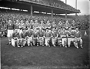 28/9/1952<br /> 9/28/1952<br /> 28 September<br /> <br /> GAA All Ireland Senior Football Meath Vs. Cavan<br /> The Cavan Team
