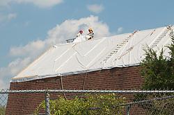 CT-DOT Orange Salt Shed Rehabilitation Project. No. 0106-0123. Construction Progress Views, Second Shoot.
