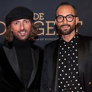 NLD/Amsterdam/20181023 -  Film premiere De Dirigent, Tommie Driessen en