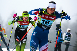 Anamarija Lampic (SLO) during Ladies team sprint race at FIS Cross Country World Cup Planica 2019, on December 22, 2019 at Planica, Slovenia. Photo By Peter Podobnik / Sportida