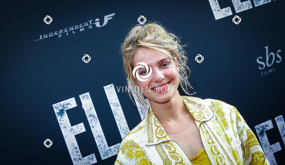 AMSTERDAM - De Nederlandse premiere van Elle, de nieuwste film van regisseur Paul Verhoeven. Met hier Sallie Harmsen op de rode loper. FOTO LEVIN & PAULA PHOTOGRAPHY