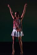 Santa Clara University Department of Theatre & Dance students perform during the dress rehearsal of Images at Santa Clara University's Louis B. Mayer Theatre in Santa Clara, California, on February 5, 2014. (Stan Olszewski/SOSKIphoto)