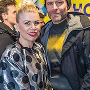 NLD/Rotterdam/20170319 - inloop De Marathon de Musical, Annemarie Jung en partner Bert Rutteman