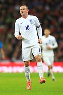 Wayne Rooney of England - England vs. Slovenia - UEFA Euro 2016 Qualifying - Wembley Stadium - London - 15/11/2014 Pic Philip Oldham/Sportimage