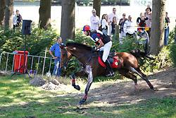 De Cleene Pieter (BEL) - Tayga van de Beemden<br /> CIC3* Breda Hippique 2010<br /> © Dirk Caremans
