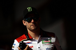 June 14, 2018 - Montmelo, Barcelona, Spain - Cal Crutchlow (35) of England and LCR Honda Castrol during the press conference before of the Gran Premi Monster Energy de Catalunya, Circuit of Catalunya, Montmelo, Spain.On 14 june of 2018. (Credit Image: © Jose Breton/NurPhoto via ZUMA Press)