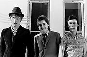 The Jam photosession  - Bruce Foxton, Rick Buckler, Paul Weller - London1978