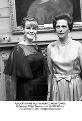 Left to right, MISS CAMILLA SHAND (Now Camilla Parker Bowles) and her mother the HON.MRS SHAND in 1965.<br /> PUBLICATION FEE MUST BE AGREED PRIOR TO USE
