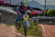 #50 (POTTIER Magalie) FRA at the 2016 UCI BMX World Championships in Medellin, Colombia.