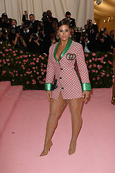 Ashley Graham attending the Costume Institute Benefit at The Metropolitan Museum of Art celebrating the opening of Heavenly Bodies: Fashion and the Catholic Imagination. The Metropolitan Museum of Art, New York City, New York, May 6, 2019. Photo by ABACAPRESS.COM