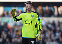 Football - 2016 / 2017 FA Cup - Fifth Round: Millwall vs. Leicester City <br /> <br /> Ron-Robert Zieler of Leicester City at The Den<br /> <br /> COLORSPORT/DANIEL BEARHAM