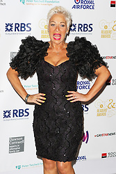 © Licensed to London News Pictures. 25/04/2014, UK. Denise Welch. The Out In The City & g3 Readers Awards, The Landmark Hotel, London UK, 25 April 2014. Photo credit : Brett D. Cove/Piqtured/LNP