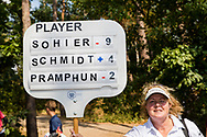 21-07-2018 Pictures of the final day of the Zwitserleven Dutch Junior Open at the Toxandria Golf Club in The Netherlands.  Scoring