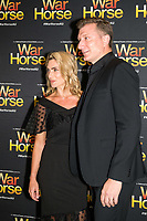 Lauren Hannaford and Simon Pryce at the opening night of War Horse, at the Lyric Theatre, Star City on February 18, 2020 in Sydney, Australia