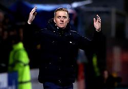 Leeds United manager Garry Monk looks frustrated - Mandatory by-line: Robbie Stephenson/JMP - 09/01/2017 - FOOTBALL - Cambs Glass Stadium - Cambridge, England - Cambridge United v Leeds United - FA Cup third round
