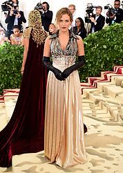 Riley Keough attending the Metropolitan Museum of Art Costume Institute Benefit Gala 2018 in New York, USA