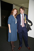 Francesca Habsburg, Archduchess of Austria and her brother Alexander Thyssen. The Professional View and Private View of Frieze Art Fair. London. 11 october 2006. -DO NOT ARCHIVE-© Copyright Photograph by Dafydd Jones 66 Stockwell Park Rd. London SW9 0DA Tel 020 7733 0108 www.dafjones.com