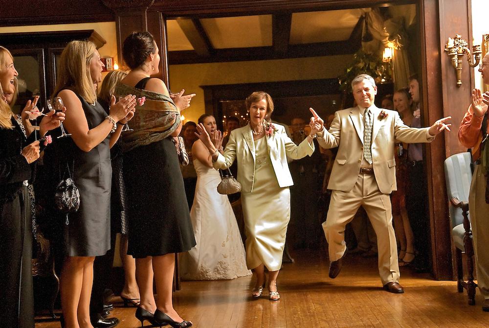 Photo by Matt Roth.Friday, September 1, 2006...Erin Cech and Keegan Rodkey's wedding