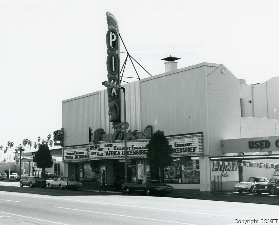 1972 Pix Theater at 6126 Hollywood Blvd.
