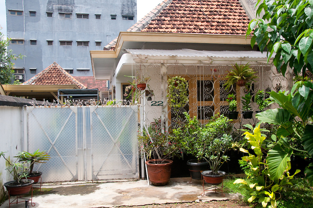 Java, Jakarta.  Barack Obama lived in Jakarta from age 5-10.  This is his childhood home.