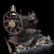 Rusty sewing machine