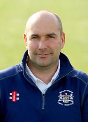 Gloucestershire CCC physio, Steve Griffin - Photo mandatory by-line: Dougie Allward/JMP - 07966 386802 - 10/04/2015 - SPORT - CRICKET - Bristol, England - Bristol County Ground - Gloucestershire County Cricket Club Photocall.