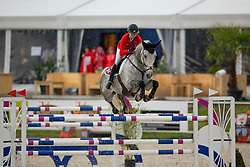 Reverdin Valdyr, (SUI), Edison<br /> Class 16 Nations Cup YR<br /> International Competition CSIO Young Riders Opglabbeek 2016<br /> © Dirk Caremans