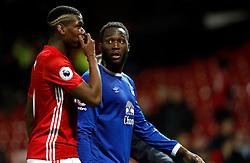 File photo dated 04-04-2017 of Manchester United's Paul Pogba and Everton's Romelu Lukaku.