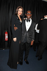 JESSIE J and TINIE TEMPAH at the GQ Men of The Year Awards 2012 held at The Royal Opera House, London on 4th September 2012.